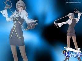 Wallpaper Franziska von Karma by Noeyop