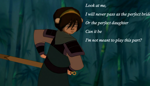 Toph: I really don't have the right by AleahDani