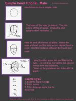 Simple tutorial for Male Head. by sammich
