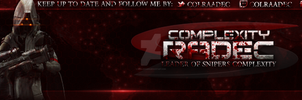 CompLexity Radec simple UI banner by RivalDesigns