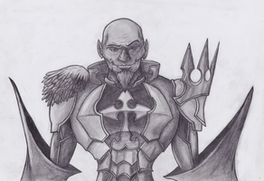Master Xehanort in Armor by JTD95