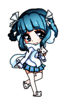 Mini Chibi For MetoMiu on GO by ShioriHiroshi