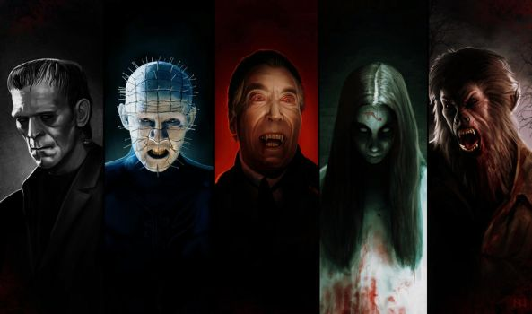 Legends of Horror by MightyGodOfThunder