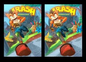 Crash Bandicoot 3D by Fabulla