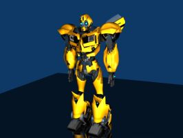 BUMBLEBEE PRIME 001 by g2mdluffy