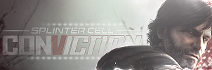 Splinter Cell Conviction by OldChili
