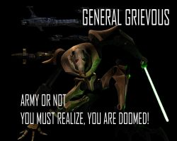 General Grievous Wallpaper 3 by Lordstrscream94