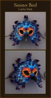 Sinister Bird - Leather Mask by windfalcon
