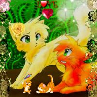 Firestars-family-warrior-cats-of-the-clans-3335865 by catheart81108