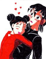 Pucca and Garru by mika-moon
