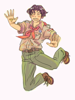 Scout by cloverinblue