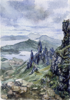 -Postcrossing: The Storr 3- by RiEile