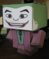 Cubee BATMAN 60'S TV Joker by njr75003