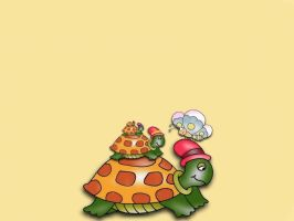 Tortues by ladylili