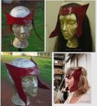 Scarlet Witch helm - mask-  headpiece by InKibus