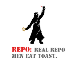 Repo man loves toast by AtomicWarpin