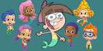 Timmy Turntrout and the Bubble Guppies by WillM3luvTrains