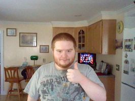 Me giving a thumbs-up by CJO1234