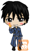 Roy Chibi by IcyPanther1