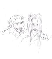 Flay and Mose by BeeInDreaming