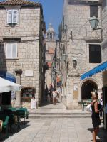 Narrow streets of Korcula city by raff34