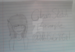 Clean Sketch Example by NotSoGr8Girl