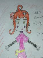 lilly gomez DXWTH oc's by Kawaii-Nekochara