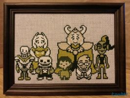Undertale - A Family Photo by toader