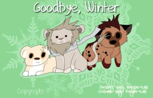 Goodbye, winter by NyotLeo