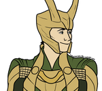 Loki by FudgeTheDog