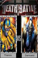 Thanos vs. Darkseid by DeadAliveManiac