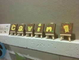 Gavin Mini Canvases by Love-Who