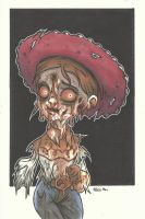 DISNEY ZOMBIE MASTERWORKS - JESSIE by leagueof1
