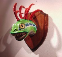 Taxidermied Murloc by TheDragonsHorde
