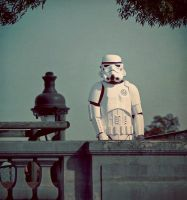 StormTrooper in Paris by daaram