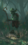Grumpy Goblin by ThroughSpaceAndTime