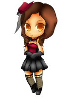 Chibi Anya in Moulin Rouge by anyatagomachii