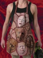 APRON OF FLESH by chuckjarman