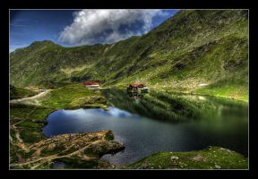 Lake Balea by fulmination
