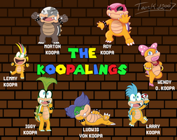 The Koopalings by Marks-Arts