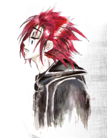 AXEL-watercoloure by ShadiChizu