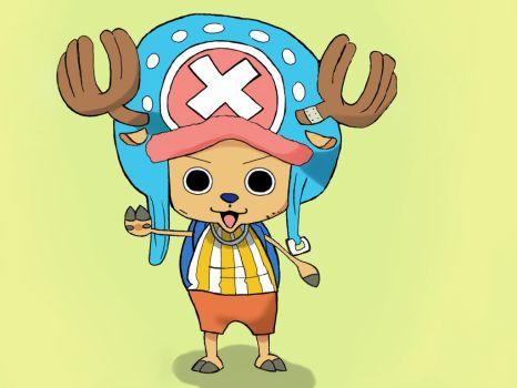 Chopper - One Piece by lovedbywolves