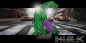 Sketch a Day Avengers - Hulk by Duff03