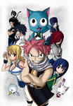 FairyTail 250 by Harukaruru