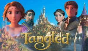 Tangled Wallpaper Cast 2 by x12Rapunzelx