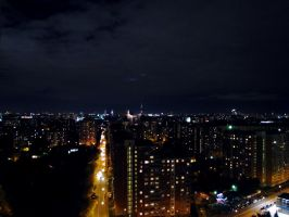 Night Moscow1 by Lady-Integra