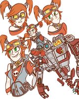 Mechro by CrescentMarionette