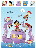 Pirates VS Poulpe by MacOneill