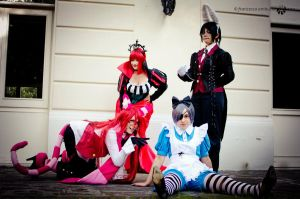 ciel in wonderland group by ely707