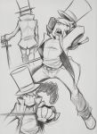 Just some fencing sketches by zillabean